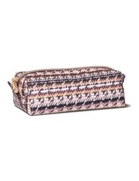 Sonia Kashuk™ Cosmetic Bag Large Pencil Case Broken Houndstooth by Shop This Collection