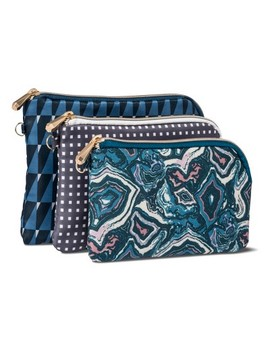 Sonia Kashuk™ Cosmetic Bag Purse Kit Modern Geo Mix   3pc by Shop This Collection