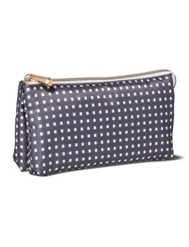 Sonia Kashuk™ Cosmetic Bag Purse Kit Charcoal Squares by Shop This Collection
