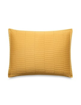 Real Simple® Dune King Pillow Sham In Mustard by Bed Bath And Beyond