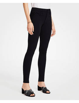 Petite Ponte Five Pocket Leggings by Ann Taylor