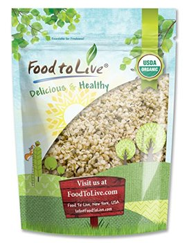 Food To Live Certified Organic Hemp Seeds (Raw, Hulled) (4 Pounds) by Food To Live