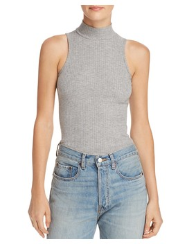 Mock Neck Sleeveless Top by Atm Anthony Thomas Melillo