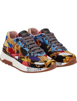 Multi Print Sneaker by Versace