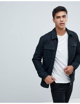 Selected Homme Nubuck Premium Leather Jacket by Selected Homme
