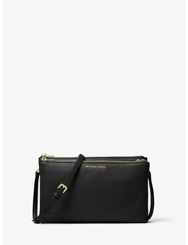 Adele Leather Crossbody by Michael Kors