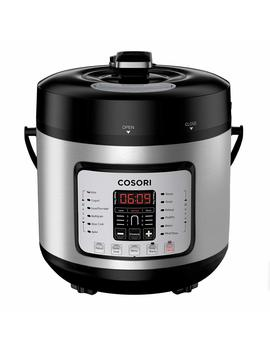 Cosori 6 Qt 7 In 1 Multi Functional Programmable Pressure Cooker, Slow Cooker, Rice Cooker, Yogurt Maker, Sauté, Steamer & Warmer, Include Glass Lid, Sealing Ring And Recipe Book, 1000 W by Cosori
