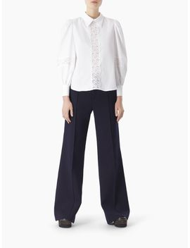 Puff Shoulder Blouse by Chloe
