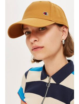 Logo Baseball Cap By Champion by Topshop