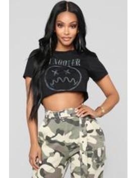 Drinking About You Tee   Black by Fashion Nova