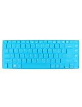 Unique Bargains Notebook Dustproof Protector Film Keyboard Skin Cover Blue For Acer 4755 G V5 431 by Unique Bargains