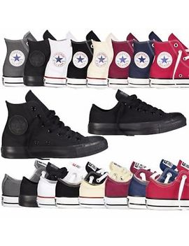 Converse Unisex Chuck Taylor Classic Colour All Star Hi Lo Tops Canvas Trainers by Ebay Seller