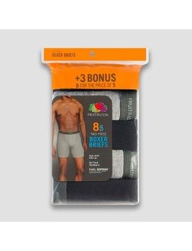 Fruit Of The Loom Men's Boxer Briefs 8pk by Fruit Of The Loom