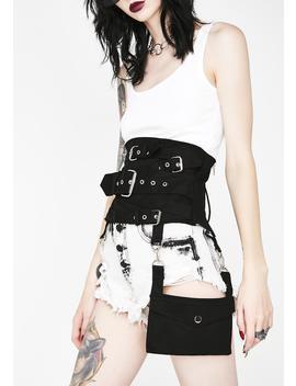 Gothic Hel Pocket Multi Belt Cincher by Necessary Evil