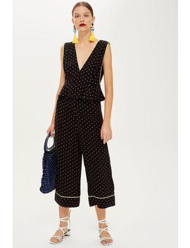 Spot Print Culottes by Topshop