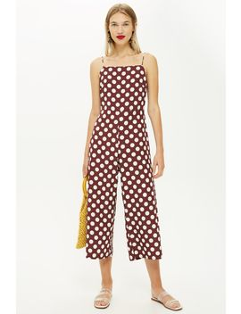 Rust Spot Jumpsuit by Topshop