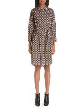 Isotto Checked Shirtdress by Burberry