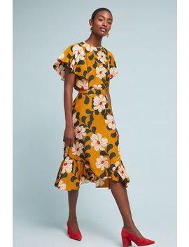 Ikebana Floral Skirt by Eva Franco