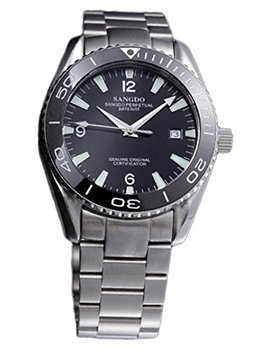 Men's Watch Automatic Self Wind Movement Sapphire Crystal Mechanical Pro Diver Watches by Carlien