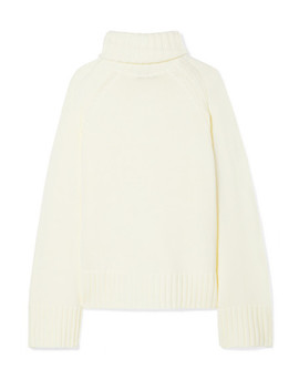 Sloppy Joe Oversized Wool Turtleneck Sweater by Joseph