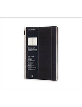 Moleskine Pro Collection Workbook, A4, Squared, Black, Hard Cover (12 X 8.5) by Amazon
