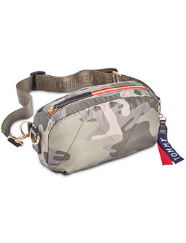 Kensington Quilted Convertible Nylon Fanny Pack by Tommy Hilfiger