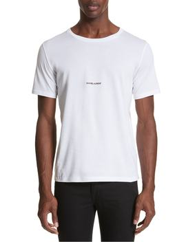 Gauche Logo T Shirt by Saint Laurent