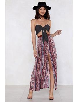 Take The Print Maxi Skirt by Nasty Gal