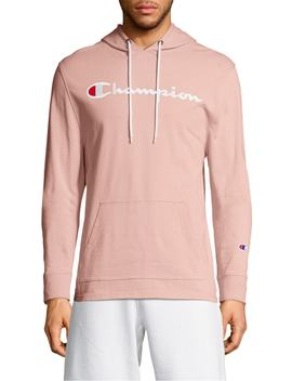 Embroidered Logo Hoodie by Champion