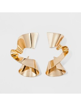 Sugarfix By Bauble Bar Gold Spiral Stud Earrings   Gold by Sugar Fix By Bauble Bar