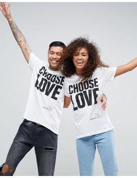 Help Refugees   Choose Love   T Shirt En Coton Biologique by T Shirt