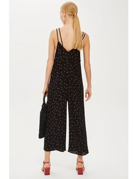 Polka Spot Slouch Jumpsuit by Topshop