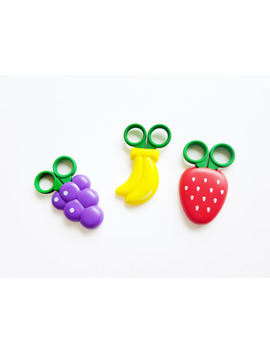 Cute Strawberry Scissors In Magnetic Case by Etsy
