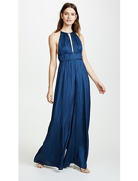 Sleeveless Jumpsuit by Halston Heritage