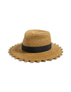 Cannes Squishee® Straw Hat by Eric Javits