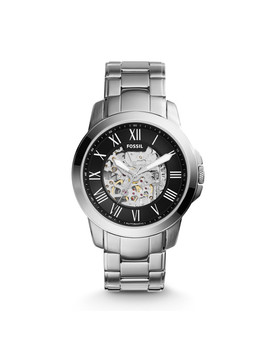 Grant Automatic Stainless Steel Watch by Fossil
