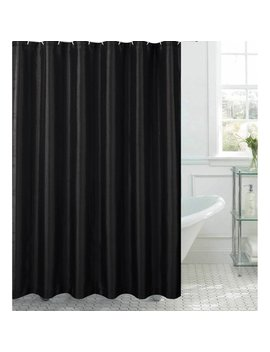 Jane Faux Silk Shower Curtain With 12 Metal Rings by Chi