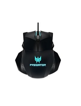 Acer Predator Cestus 500 Rgb Gaming Mouse – Dual Omron Switches 70 M Click Lifetime, Customizable Ambidextrous And Ergonomic Design, On Board Memory And Programmable Buttons by Acer