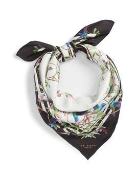 Highgrove Square Silk Scarf by Ted Baker London