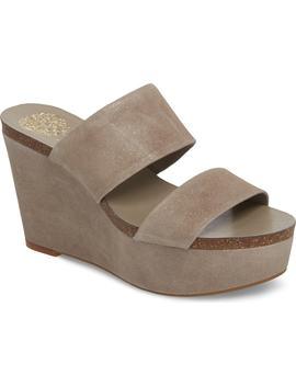 Varenia Platform Wedge Sandal by Vince Camuto