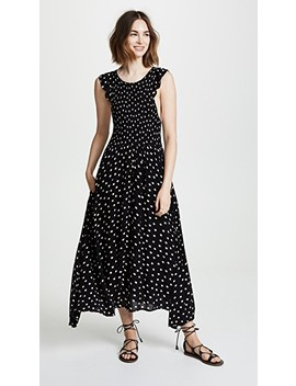 Polka Dot Midi Dress by Free People