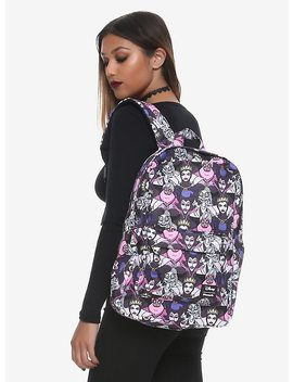 Loungefly Disney Villains Characters Backpack by Hot Topic