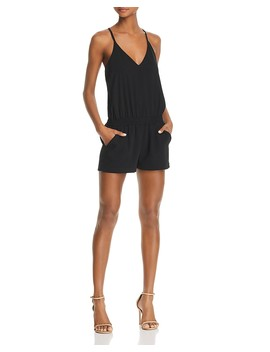 Madison Racerback Keyhole Romper by Amanda Uprichard