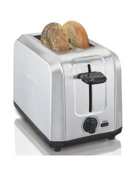 Hamilton Beach Brushed Stainless Steel Toaster | Model# 22910 by Hamilton Beach