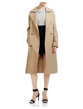 Gomby Trench Coat by Maje
