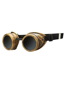 Official Wwe Authentic Becky Lynch Steampunk Goggles Brass One Size by Wwe