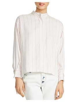 Coquelico Striped Shirt by Maje