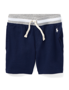Cotton Spa Terry Pull On Short by Ralph Lauren