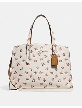 Charlie Carryall With Floral Bloom Print by Coach