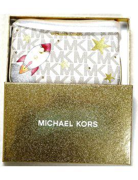 Michael Kors Illustrations Lg Tz Wristlet Rocket Space Stars Vanilla           Love It                  Wife Loved It!                  I Love It   It´S So Beautiful by Generic